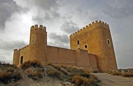 Castillo de Jumilla - Autor Cayetano Herrero